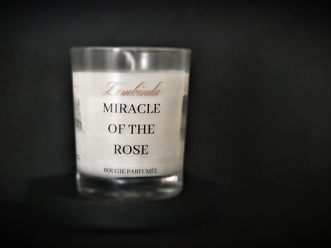 BOUGIE MIRACLE OF THE ROSE