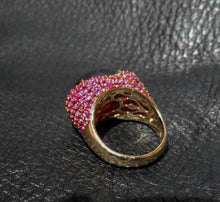 Load image into Gallery viewer, rhodolite ruby ring