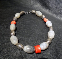 Load image into Gallery viewer, Agate Coral Necklace, One of a Kind