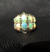 Load image into Gallery viewer, Ethiopian Opal Ring, Sterling Silver