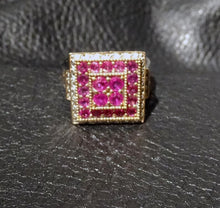 Load image into Gallery viewer, Burmese Ruby Ring 18K gold