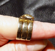 Load image into Gallery viewer, Victorian Snake Ring, Gold