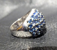Load image into Gallery viewer, Sapphire Dome Ring, 5.18ctw Ceylon
