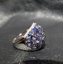 Load image into Gallery viewer, Tanzanite Dome Ring, 7.20ctw