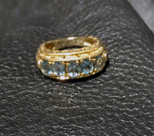 Load image into Gallery viewer, Natural Alexandrite Ring, 14K Gold, Art Deco