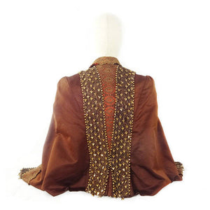 Beaded Silk Jacket, Victorian, Museum Quality, Beaded Silk, 1800s Mint Condition