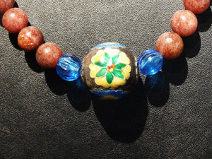 RARE Antique Necklace, Chinese Court Beads, Qing Dynasty 1800s