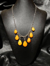 Load image into Gallery viewer, Butterscotch Amber Necklace Vintage Latvian 26.5 Grams