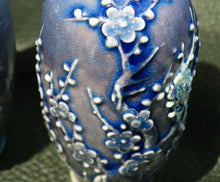 Load image into Gallery viewer, Miniature Chinese Vases, Pair RARE 18th Century Porcelain, Powder Blue Glaze