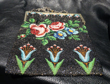 Load image into Gallery viewer, Beaded Estate Bag Circa 1900 Multicolor