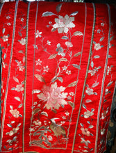 Load image into Gallery viewer, Featured Embroidered Mandarin Skirt, Qing Dynasty 1850s, Handmade PHENOMENAL CONDITION
