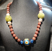 Load image into Gallery viewer, RARE Antique Necklace, Chinese Court Beads, Qing Dynasty 1800s