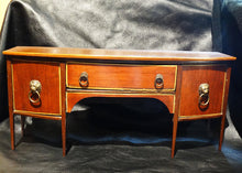 Load image into Gallery viewer, Miniature Antiqiue Sideboard, Handmade Circa 1800s, Salesman Sample Sheraton