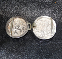 Load image into Gallery viewer, Antique Silver Buckle, Chinese Export, Repousse,  Circa 1890 23.3 Grams
