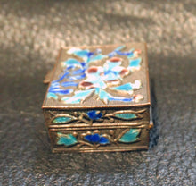 Load image into Gallery viewer, Miniature Enamel Box, Antique Chinese Enamel, Circa 1890-1900