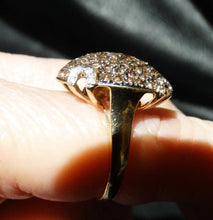 Load image into Gallery viewer, champagne diamond ring