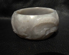 Load image into Gallery viewer, Featured Exceptional Jade Bangle, Hetian Nephrite, Rare Color, Qing Dynasty, 58 mm