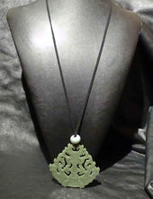 Load image into Gallery viewer, Jade Necklace, Antique Nephrite Pendant