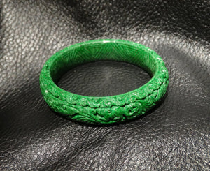 Featured Carved Maw Sit Sit Bangle
