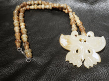 Load image into Gallery viewer, Jade Butterfly Necklace, Qing Dynasty Nephrite