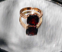 Load image into Gallery viewer, Rhodolite Diamond Ring, 16.83ctw, 14K Rose Gold, EFFY