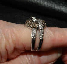 Load image into Gallery viewer, Featured 18K Diamond Knot Ring, Nontraditional Engagement