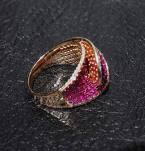 Load image into Gallery viewer, Featured Designer Ruby Diamond Ring, 14K Rose Gold, 2.64 ctw