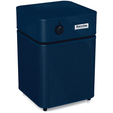 Image of Austin Air Systems New Midnight Blue Austin Air HealthMate Plus Jr Air Purifier