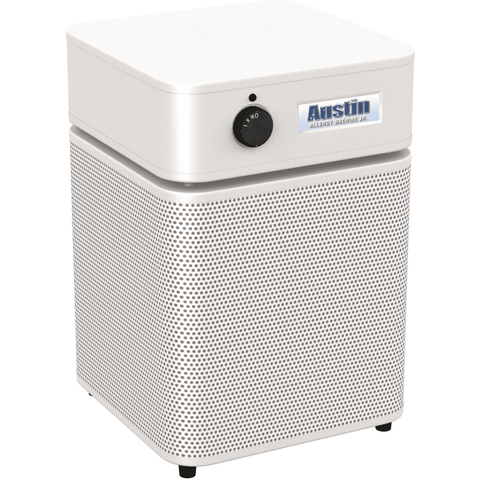 Austin Air Systems New White Austin Air Allergy Machine Jr Air Purifier