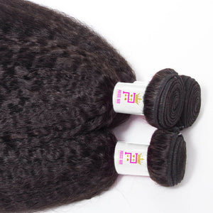 Precise Hair Peruvian Kinky Straight Virgin Human Hair