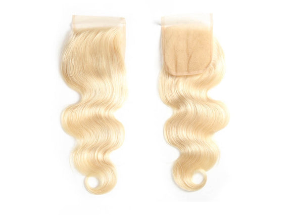 Blonde 613 Brazilian Body Wave Closure - Precisehairextensions.com