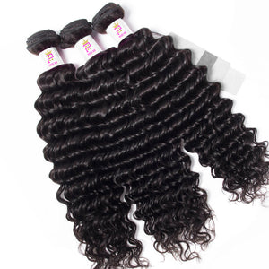 Precise Hair Peruvian Deep Wave Human Hair - Precisehairextensions.com