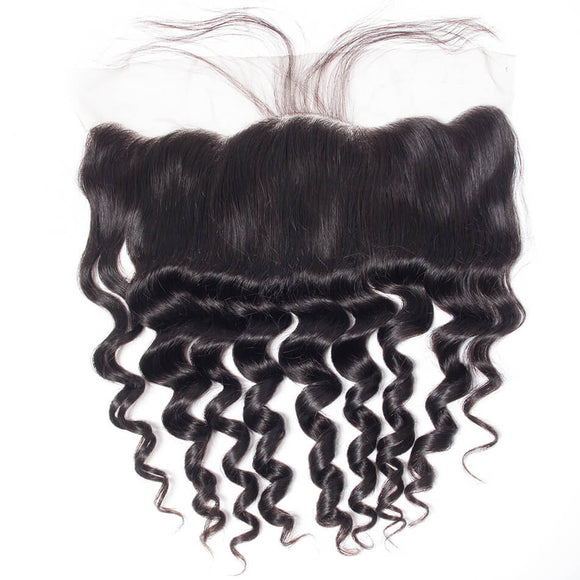Loose Deep Wave Frontal | Precise Hair Extensions - Precisehairextensions.com