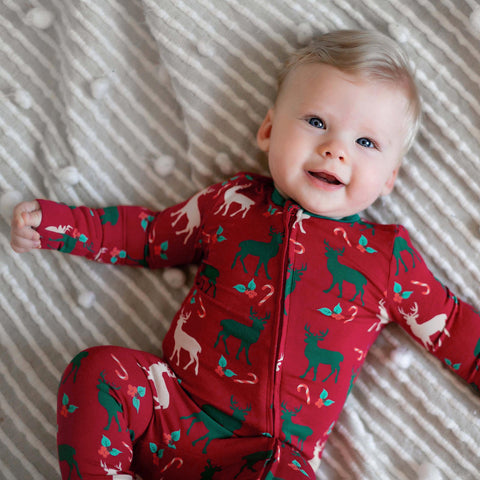 Holiday Baby Pajamas