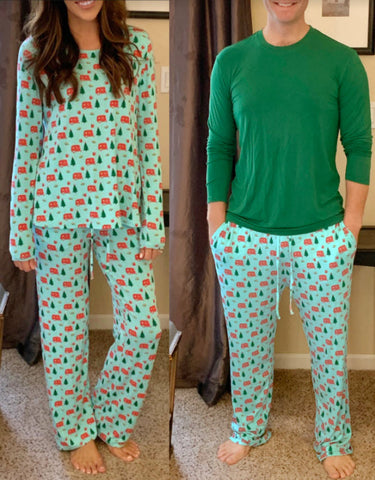 Adult Holiday Pajamas