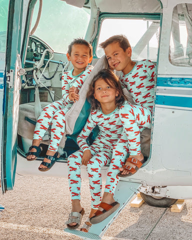 Airplane Bamboo Pajamas