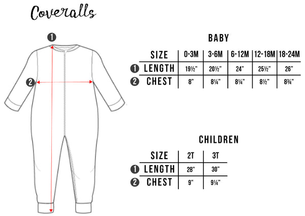 Coveralls Size Chart Free Birdees