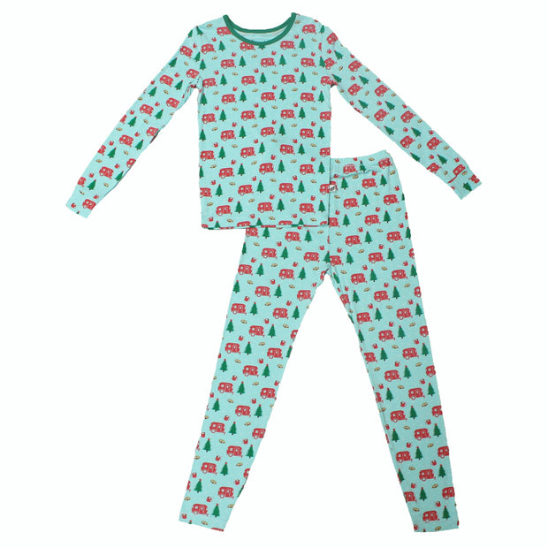 Holiday Airstream & S'mores Pajama Set (2T-10Y)