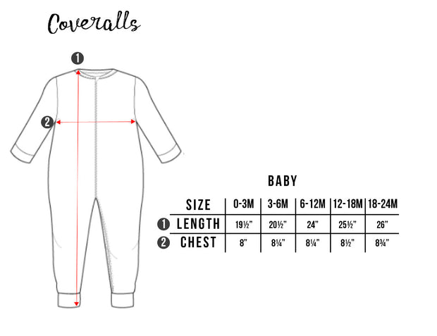 Plume Coverall (0-24m)