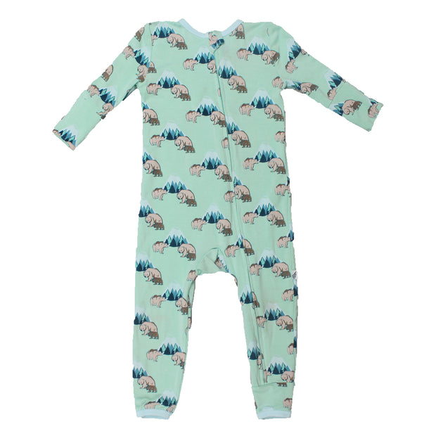 Grass Grizzly Bears Coverall (2T-3T)
