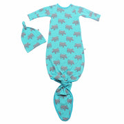 Blue Lagoon Rhinos Newborn Set (0-3M)