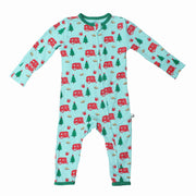 Holiday Airstream & S'mores Coverall (2T-3T)