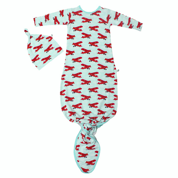 Atlantic Blue Aviator Newborn Set (0-3M)