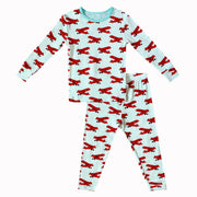 Atlantic Blue Aviator Pajama Set (0-24m)