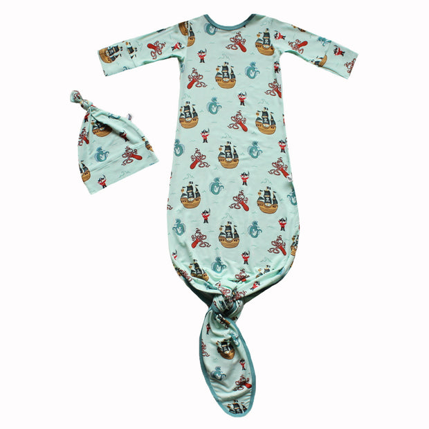Seafoam Pirates & Sea Dragons Newborn Set (0-3M)