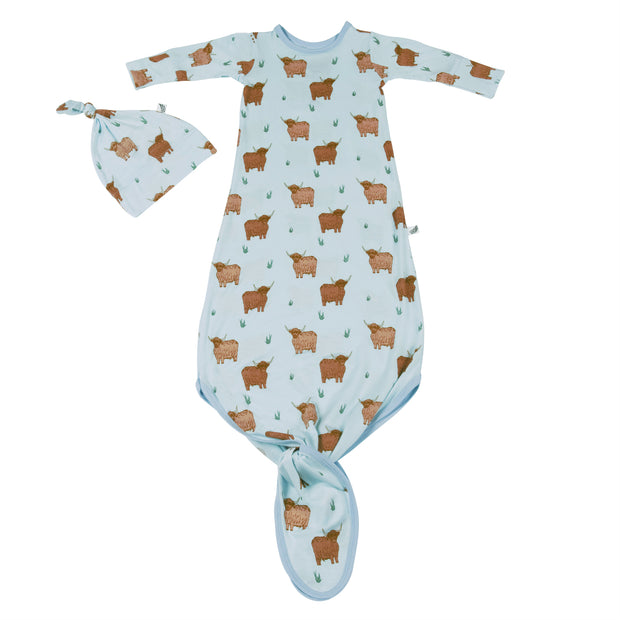Highland Cattle Newborn Set (0-3M)