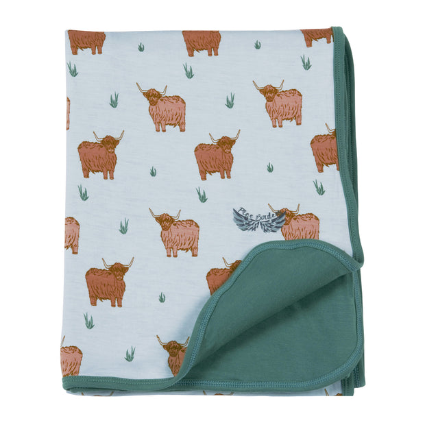 Highland Cattle Stroller Blanket