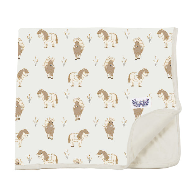 Mini Horses Toddler Blanket