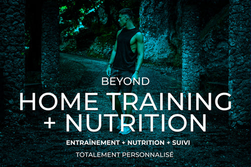 Programme HOME TRAINING + NUTRITION