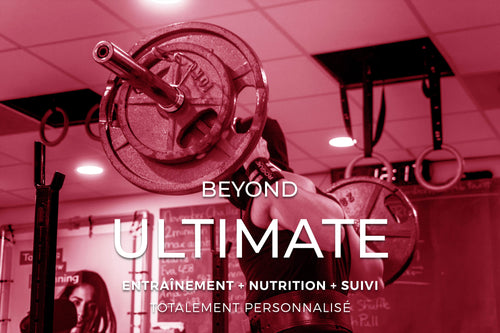 Programme ULTIMATE (GYM TRAINING + NUTRITION)